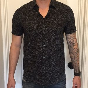 John Varvatos Short Sleeve Button Down Shirt